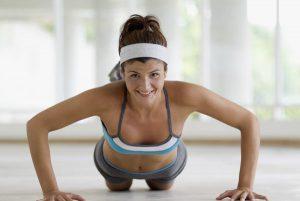 Brystoppstrammende øvelser