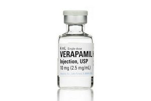 Injections de vérapamil